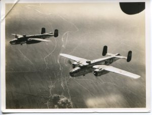 B-25s over Italy