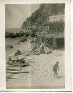 Marina Piccolo, Capri 1945