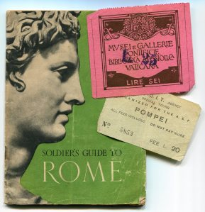 Pamphlet and tickets, Italy