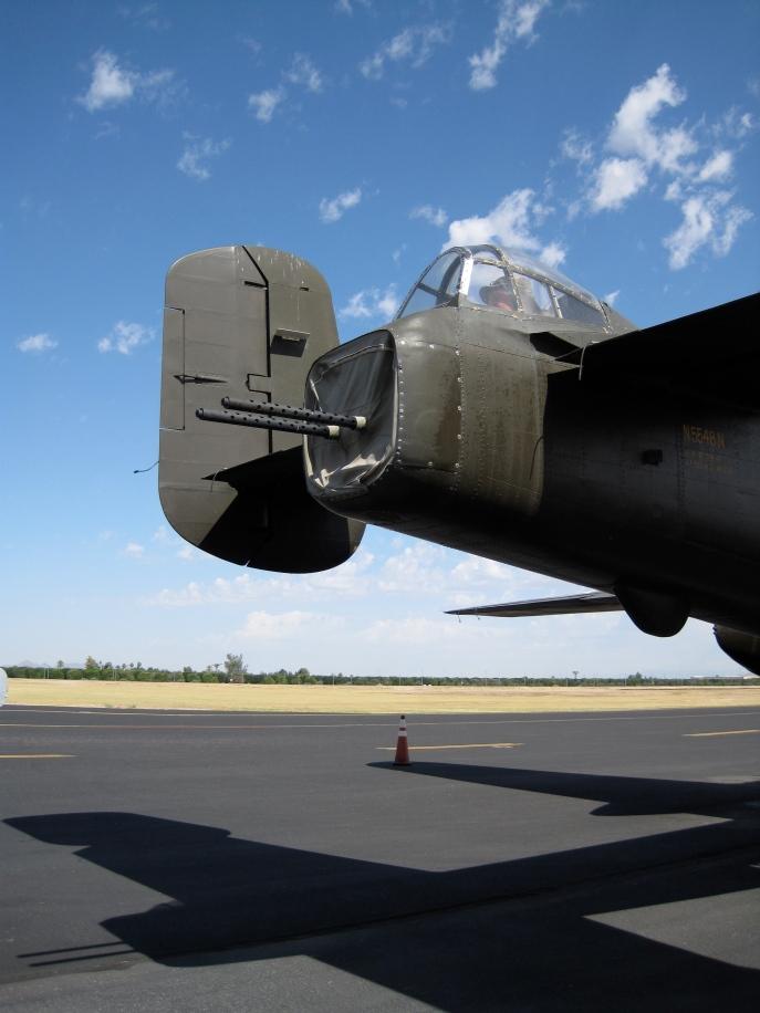 B-25 tail guns.