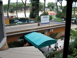 Tiber Terrace entrance.